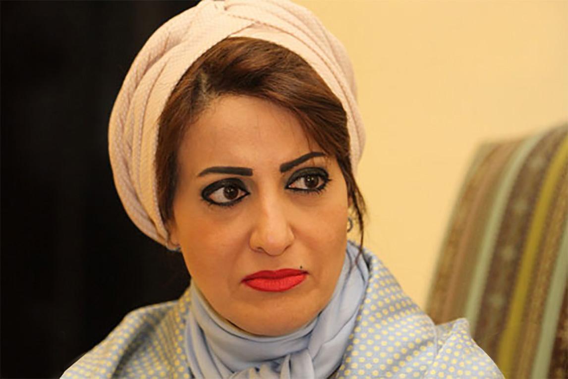رئيسة جمعية المحامين البحرينية هدى المهزع