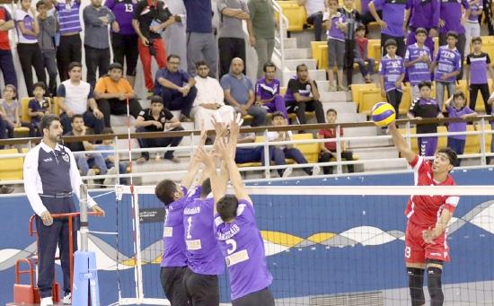 علي إبراهيم يتألق أمام فريقه السابق  - تصوير محمد المخرق