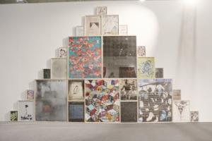 بالفيديو... لوحات وأعمال الفنية في معرض فن البحرين عبر الحدود  2017