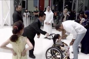 بالفيديو... «بس أنا أمي غير» يُبكي أمهات المعاقين والبحرينيين