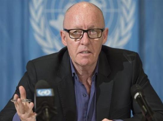 جيمي ماكجولدريك المنسق الشؤون الإنسانية للأمم المتحدة في اليمن