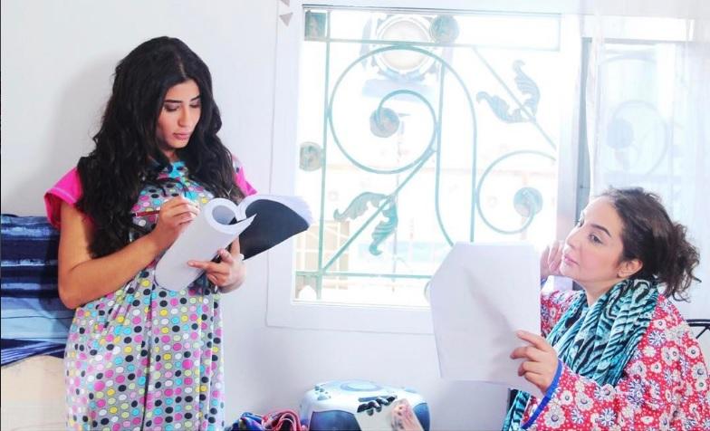 شيماء علي مع ليلي عبدالله في