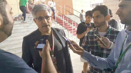 محمود الكوهجي يتحدث لوسائل الإعلام