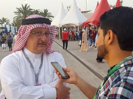 عبدالرحمن عسكر يتحدث لـ «الوسط الرياضي»