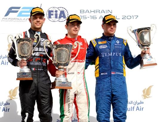 الفائزون في سباق الفورمولا2