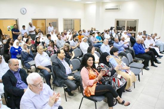 الحضور في ندوة «وعد»
