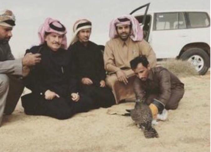 صورة ارشيفية لعدد من القطريين المفرج عنهم في العراق.