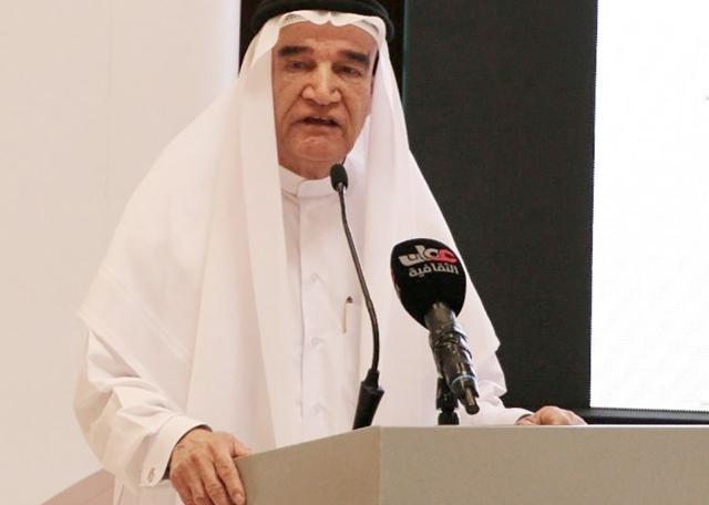 منصور سرحان يلقي كلمة البحرين