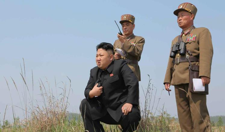زعيم كوريا الشمالية كيم جونغ-اون