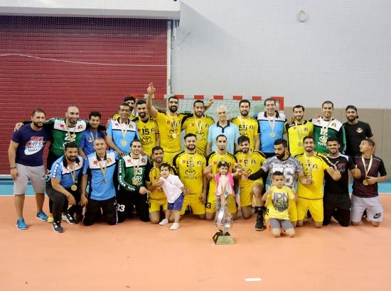 الأهلي بطل كأس اتحاد اليد لموسم 2017 تصوير أحمد آل حيدر