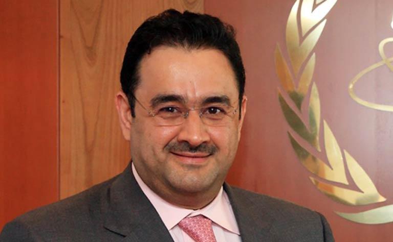 المندوب الدائم لدولة الكويت لدى الأمم المتحدة في فيينا السفير صادق معرفي