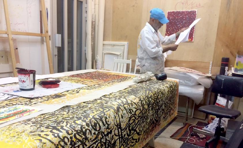 عباس يوسف في «مرسم رباب»
