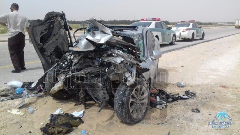 صورة للحادث نقلها موقع
