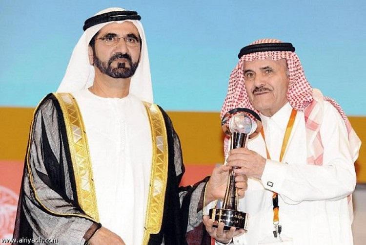 الشيخ محمد بن راشد أل مكتوم مكرما تركي السديري