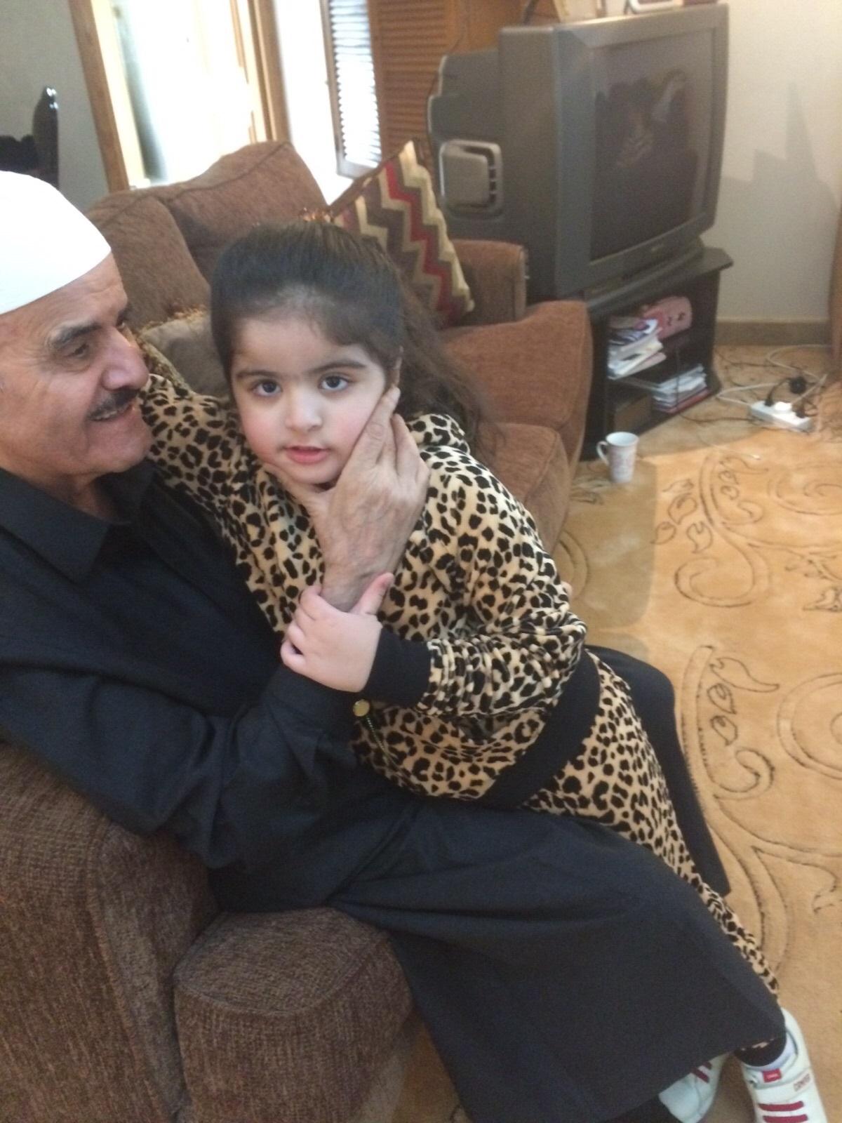السديري مع حفيدته
