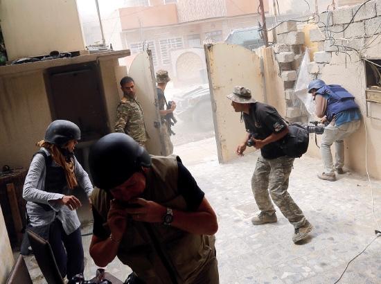 الحشد الشعبي العراقي ينجز 70 بالمائة من عملية تحرير القيروان بالموصل