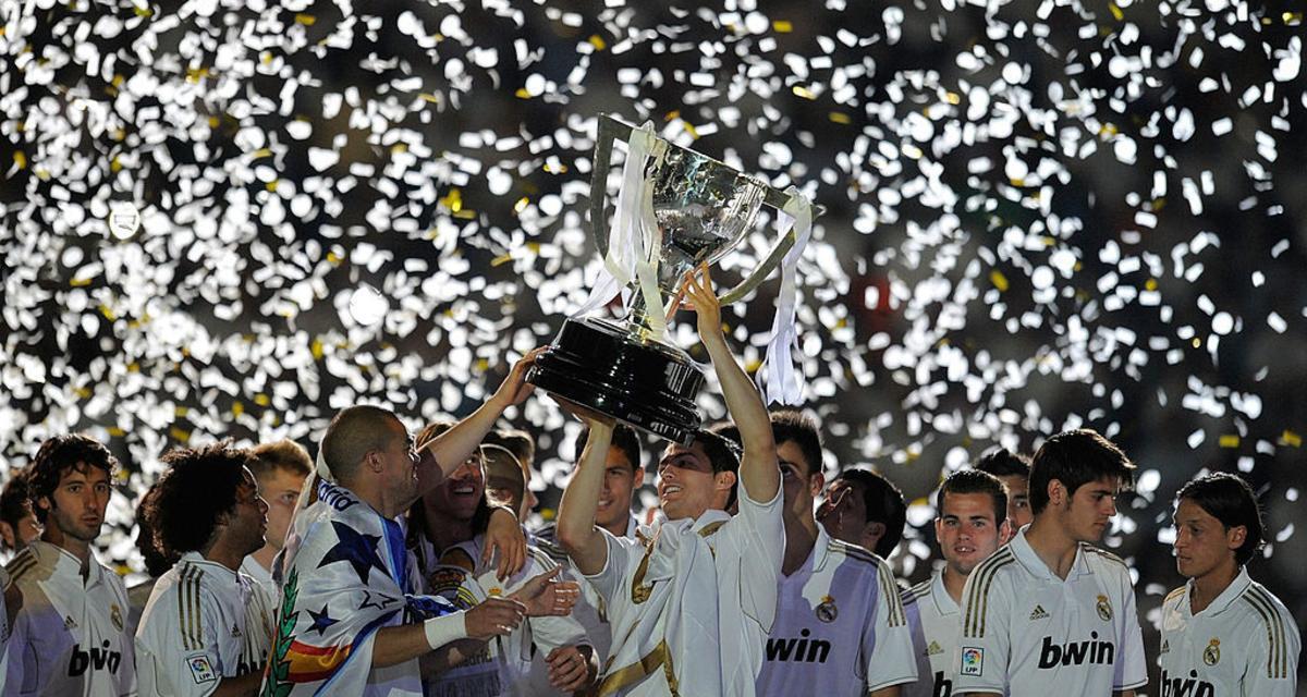 آخر مرة فاز فيها ريال مدريد بالدوري كانت عام 2012