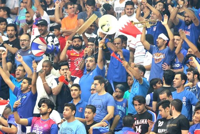 جمهور المنامة حضر بقوة أمس