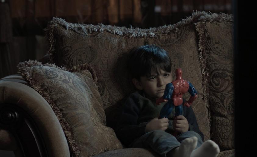 مشهد من الفيلم الحائز على المركز الثاني