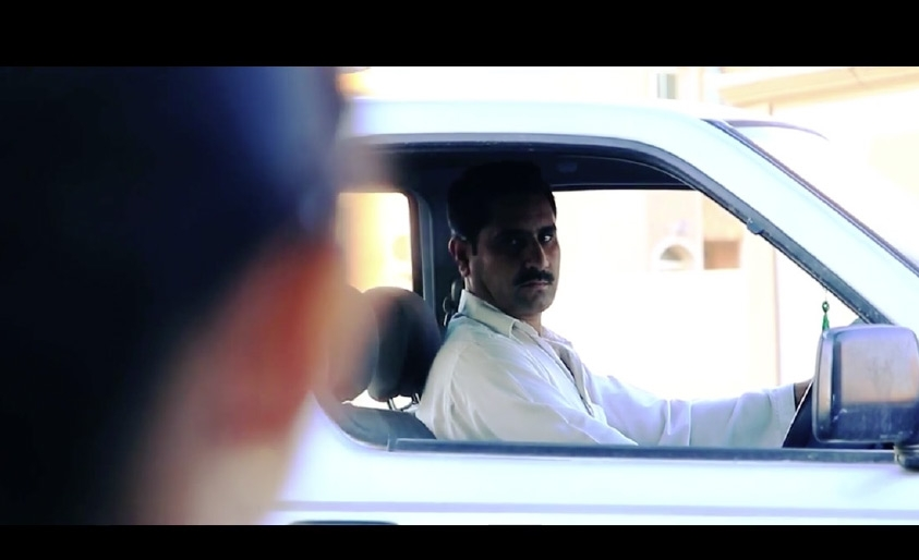 مشهد من الفيلم الحائز على المركز الثالث