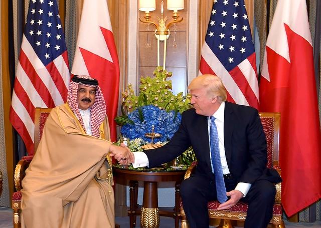 العاهل: علاقات البحرين مع الولايات المتحدة منذ 120 عاماً قائمة على أسس جيدة جدّاً من التفاهم المتبادل- بنا