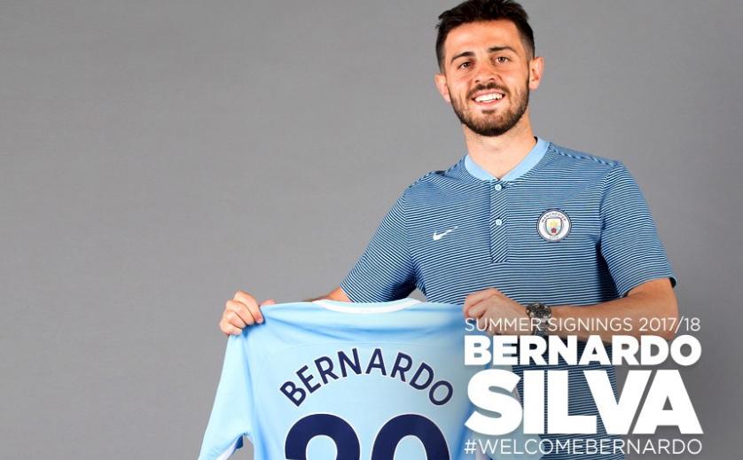 نتيجة بحث الصور عن رسميا : برناردو سيلفا ينتقل الى مانشستر سيتي