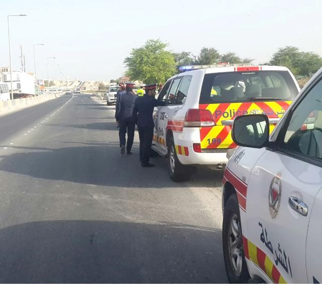 الجهات الأمنية في موقع الحادث المميت