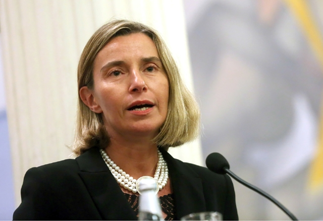 ألمانيا- منحت ولاية هيسن الألمانية مسئولة الأمن والشئون الخارجية بالاتحاد الأوروبي فديريكا موغريني أمس (الجمعة) جائزتها للسلام عن عام 2016.