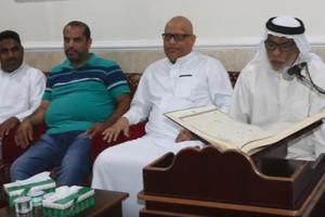 بالفيديو... مجلس عائلة حجي ناصر بن وهاب في منطقة المالكية
