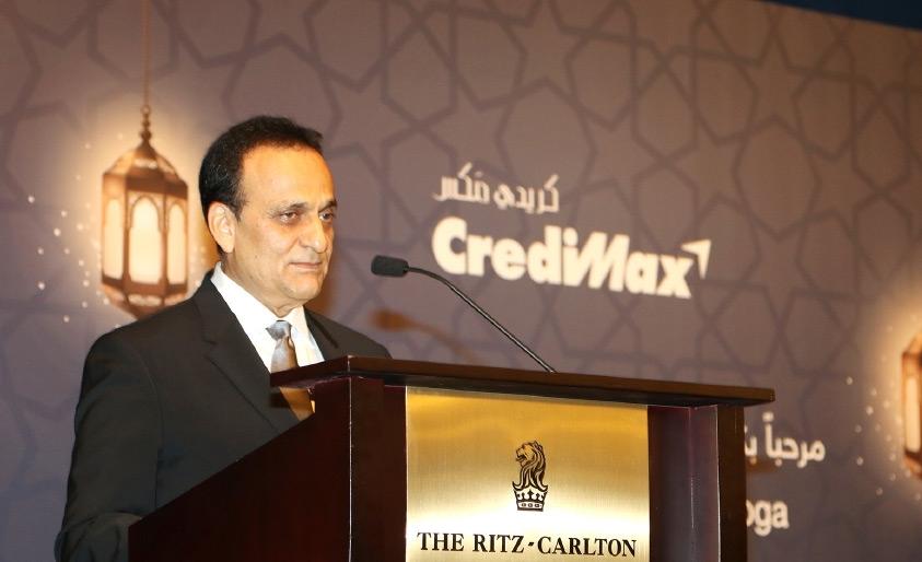 الرئيس التنفيذي لكريدي ماكس في غبقة الشركة السنوية لشركائها  - تصوير محمد المخرق